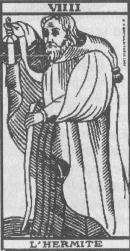 Arcana 9 Pustnicul Sihastrul