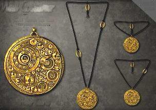 amulete metal
