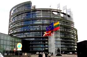 Cladirea actuala a Parlamentului European