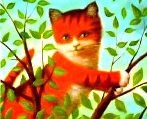 pisica-in-copac