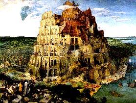 Turnul Babel din pictura lui Bruegel