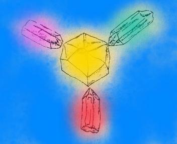 Generatorul de energie mentala - pentru vindecarea unei persoane cu ajutorul cristalelor