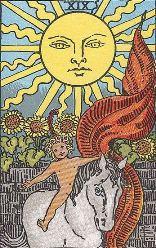 Arcana 19 Soarele