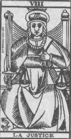 Arcana 8 Justitia