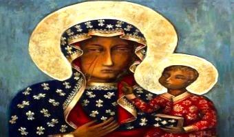 Icoana de minuni a Maicii Domnului de la Czestochowa sau Icoana Madonei Negre - pictata de evanghelistul Luca acum 2.000 de ani