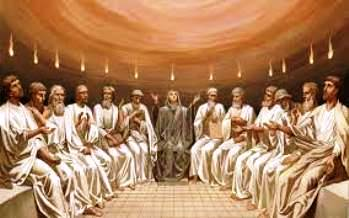 """Rusaliile - """"limbile de foc"""" primite de apostolii lui Iisus. Unii spun ca ar fi vorba de o """"energie misterioasa"""" receptionata de la fiinte din alte lumi"""