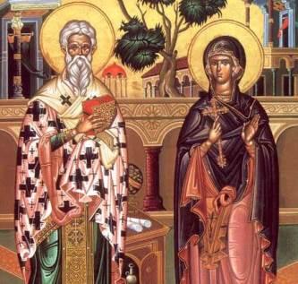 Sf Ciprian si Sf. Iustina