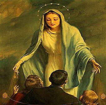 Conform crestinismului, Sf. Fecioara Maria nu a murit niciodata! Ea inca face minuni pe Terra, ajutandu-i pe oameni...