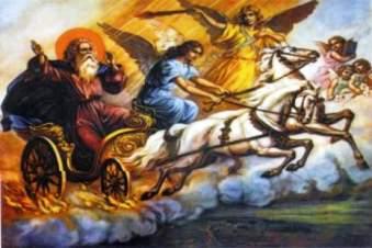 """Sf. Ilie a fost un """"extraterestru intelept"""" trimis pe Terra si apoi a disparut in ceruri intr-un """"car de foc"""" - sustin unii ezoteristi"""