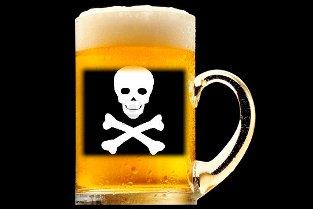 bere otrava
