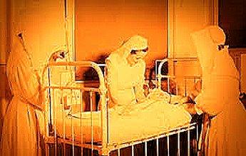 Calugarita care ingrijea doi bolnavi, foarte contagiosi: facea asta pentru un sac cu bani sau pentru alta rasplata?
