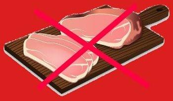 In Evanghelia Apocrifa a Pacii, Iisus Hristos ne indeamna sa nu mancam deloc carne?