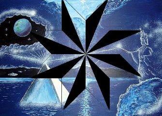 Simbolul secret al vechilor civilizatii ascunse din trecutul omenirii: steaua cu 8 colturi si crucea din interiorul acesteia