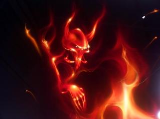 demon in flacari