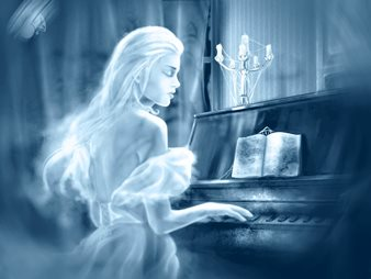 Pot spiritele unor persoane decedate sa cante la instrumentele muzicale din lumea noastra?