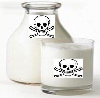 lapte toxic