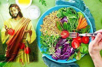 """In """"Evanghelia eseniana a pacii"""", Iisus Hristos considera ca mancarea gatita este una moarta, recomandand consumul de alimente crude, fara foc!"""