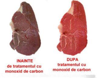 monoxid de carbon carne