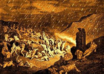 """Ce se intampla cu sufletele malefice, dupa ce au ajuns in iad - conform """"Cartii Tibetane a Mortilor"""""""